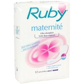 Ruby maternité serviettes maxi - ruby -146024