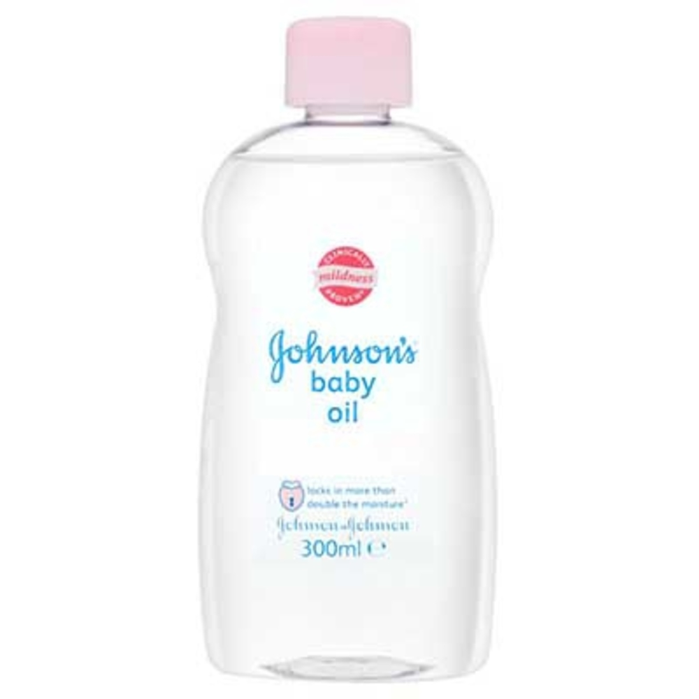 'S Baby Oil - 300ml - Johnson -195498