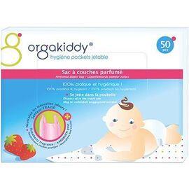 Sac à couches parfumé fraise x50 - orgakiddy -223758