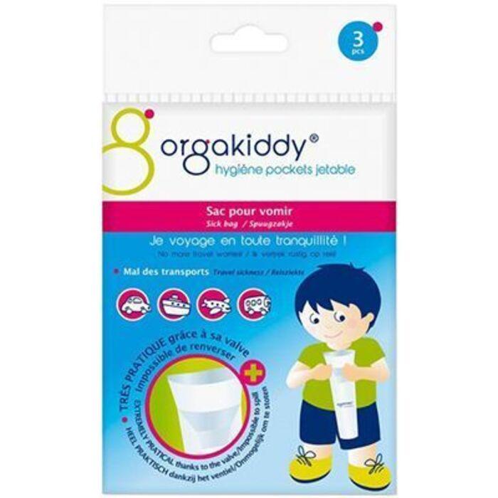 Sac pour vomir x3 Orgakiddy-223742