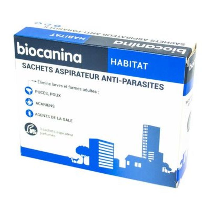 Sachets aspirateur anti-parasites Biocanina-221555
