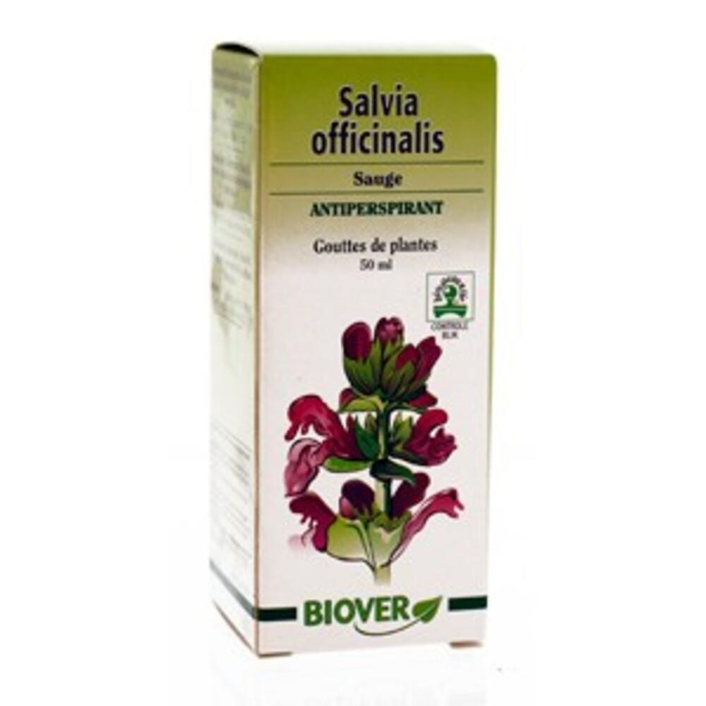 Salvia officinalis (sauge) bio - 50.0 ml - gouttes de plantes - teintures mères - biover Antiperspirant-8989