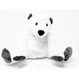 Sanodiane bouillotte graines de lin hugsy l'ours blanc - sanodiane -222711