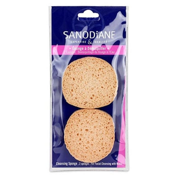 Sanodiane eponge à démaquiller x2 Sanodiane-5688