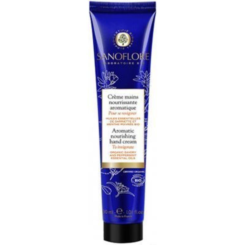 Sanoflore crème mains aromatique pour se revigorer 30ml - sanoflore -220519