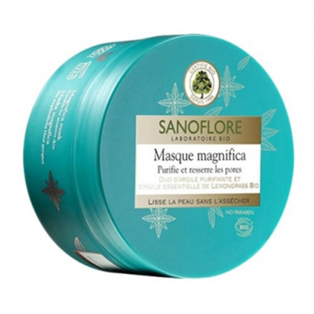 Sanoflore masque magnifica - 100.0 ml - aqua magnifica - sanoflore Purifie et ressere les pores-143015