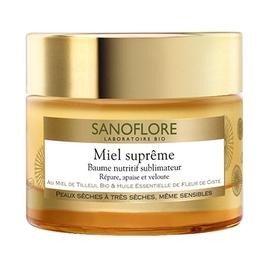 Sanoflore miel suprême baume nutritif - 50.0 ml - sanoflore -147707