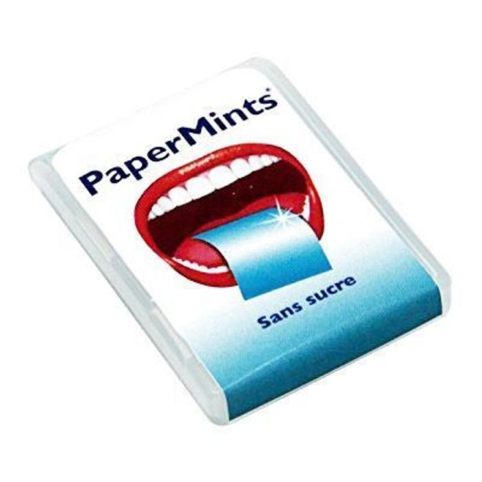 Sans sucre 24 feuilles Papermints-219315