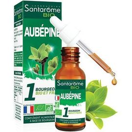 Santarome bio aubépine 30ml - santarome -222840