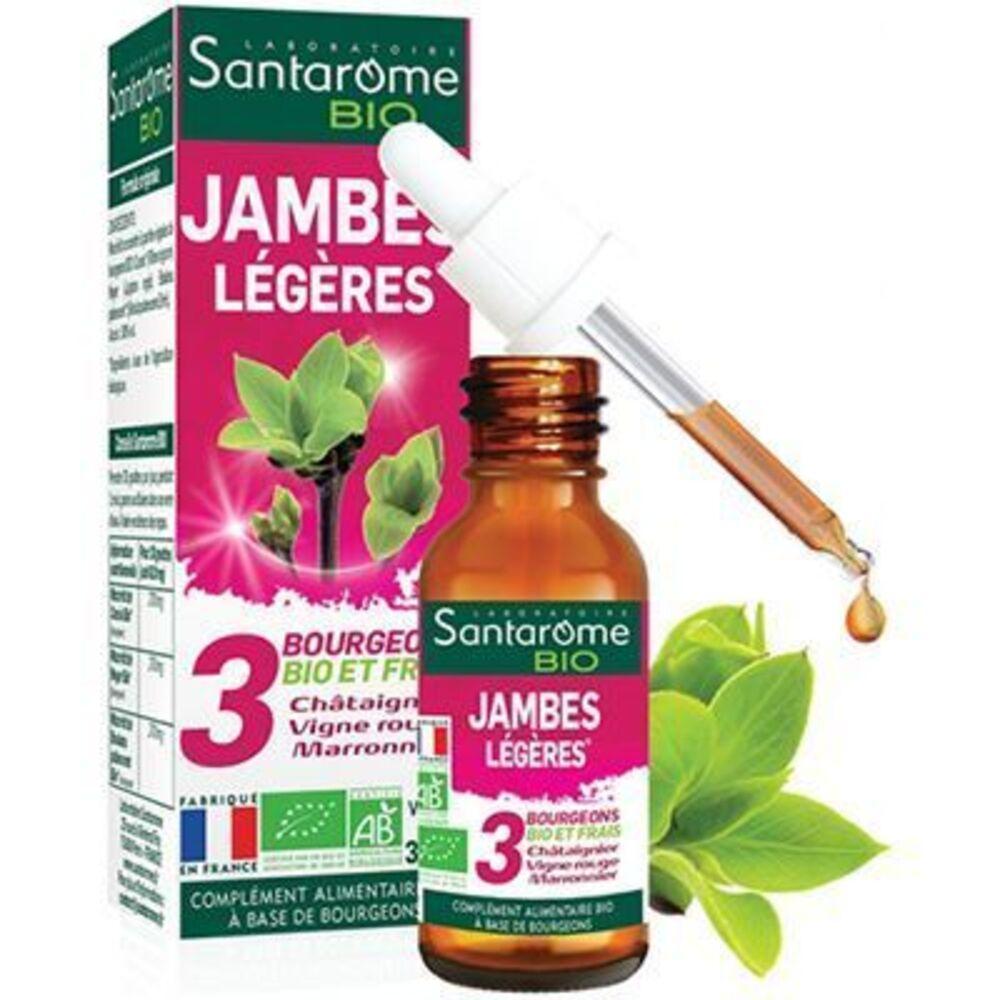Santarome bio jambes légères 30ml Santarome-222847