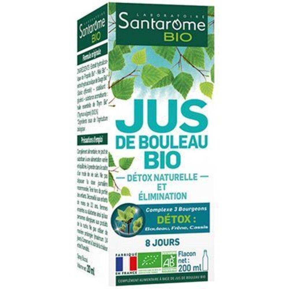 Santarome bio jus de bouleau bio 200ml - santarome -224435