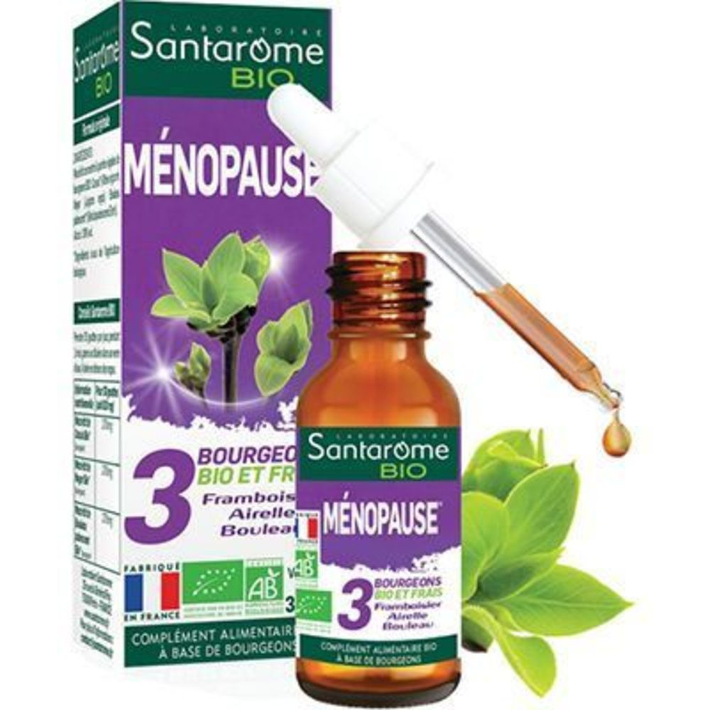 Santarome bio ménopause 30ml Santarome-223112