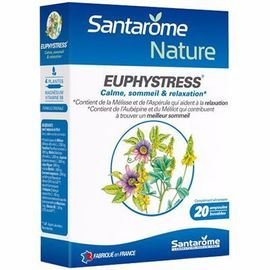 Santarome euphystress 20 ampoules x 10ml - santarome -216406