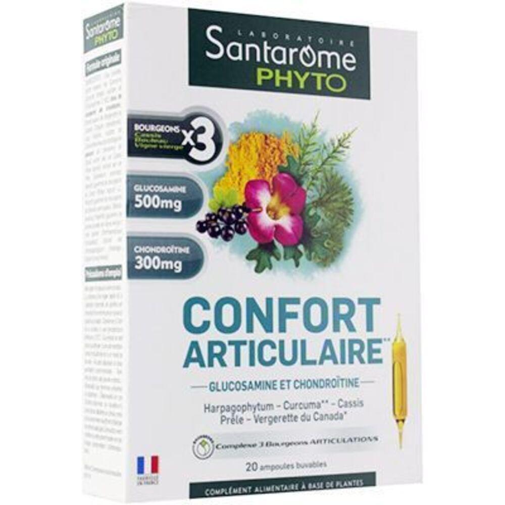Santarome phyto confort articulaire 20 ampoules Santarome-222838