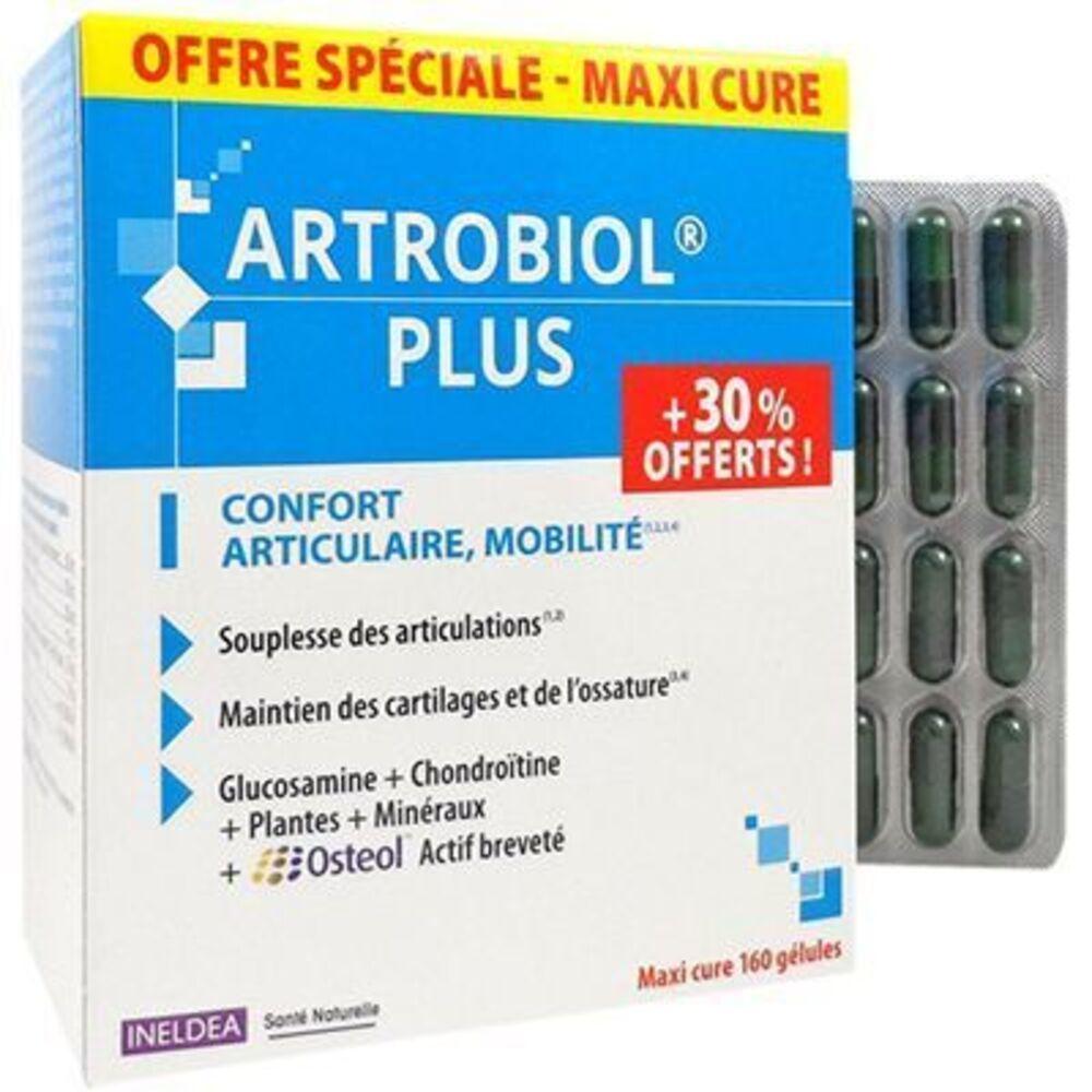 Sante naturelle artrobiol plus 160 gélules - promo Ineldea-223115