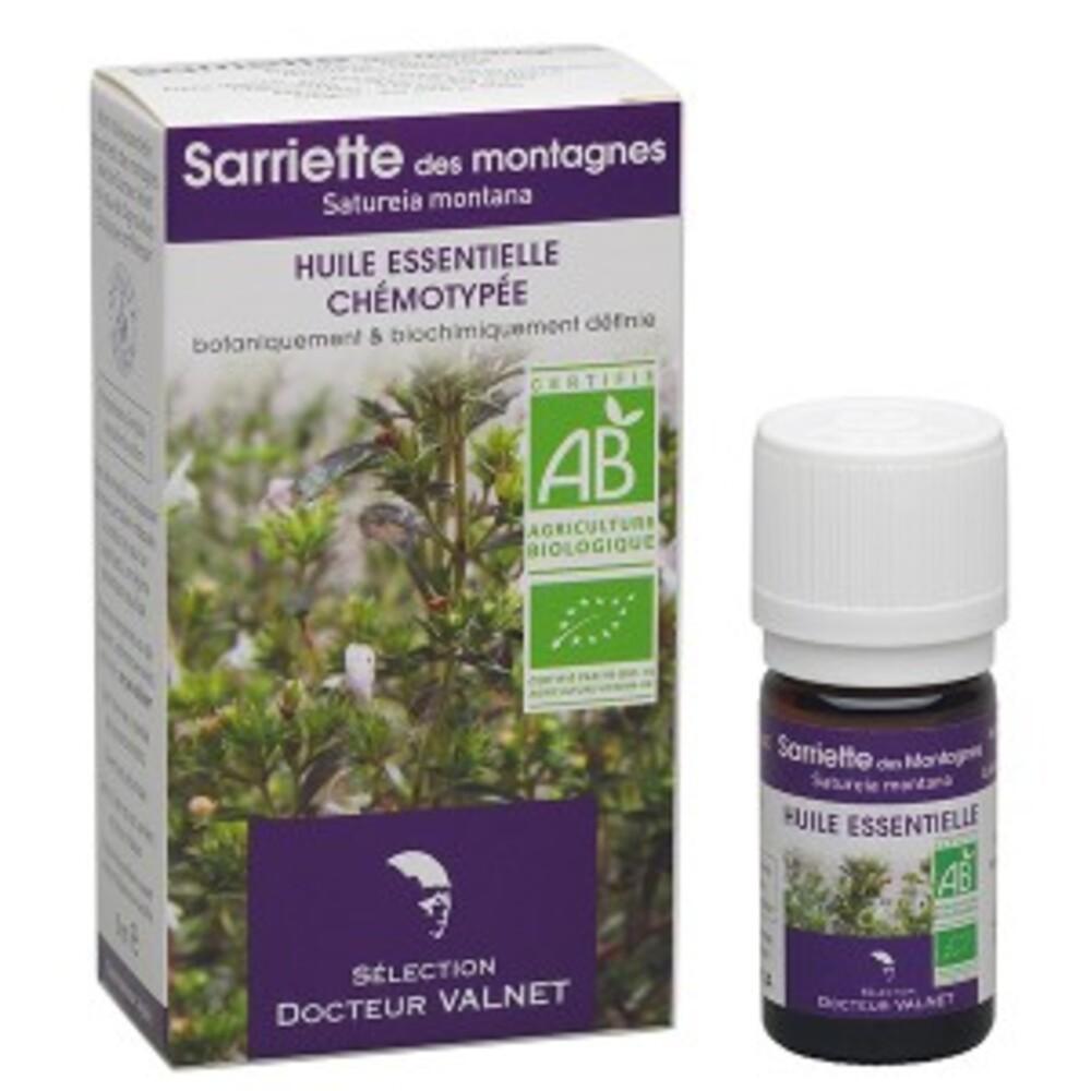 Sariette des montagnes bio - 5.0 ml - les huiles essentielles bio - dr. valnet -15170