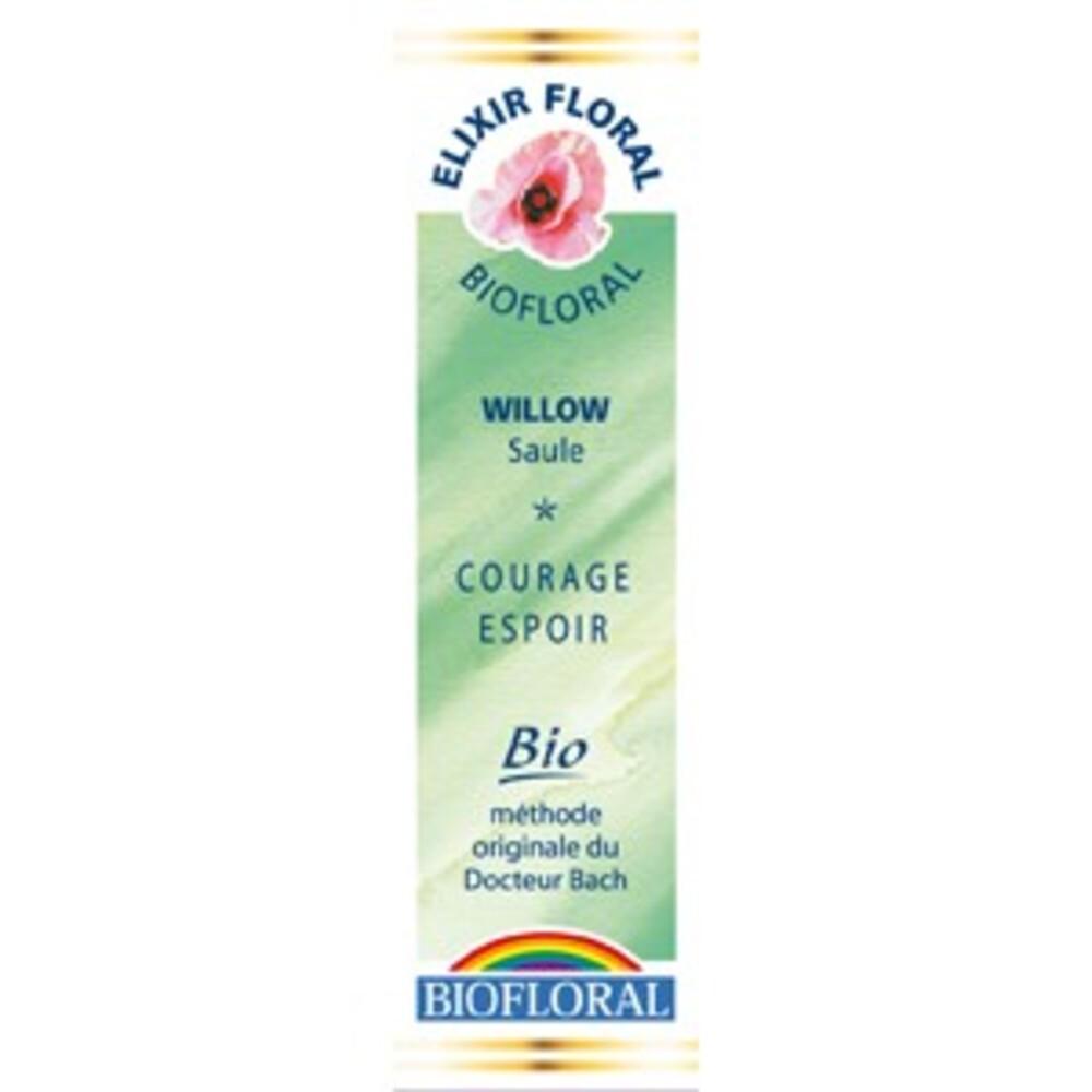 Saule (willow) - 20.0 ml - elixirs floraux - biofloral Humeur : découragement / désespoir-1329