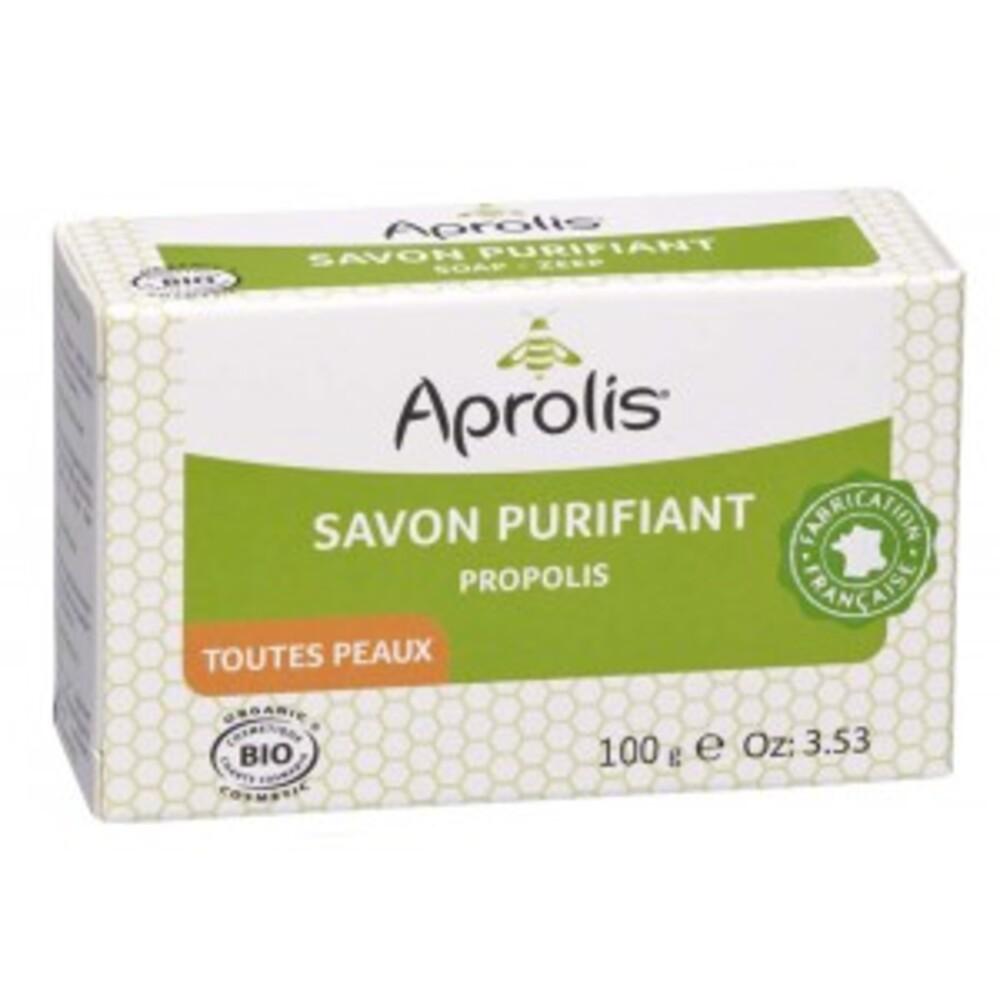 Savon à la propolis bio - 100.0 g - aprolis cosmétique bio - aprolis -14838
