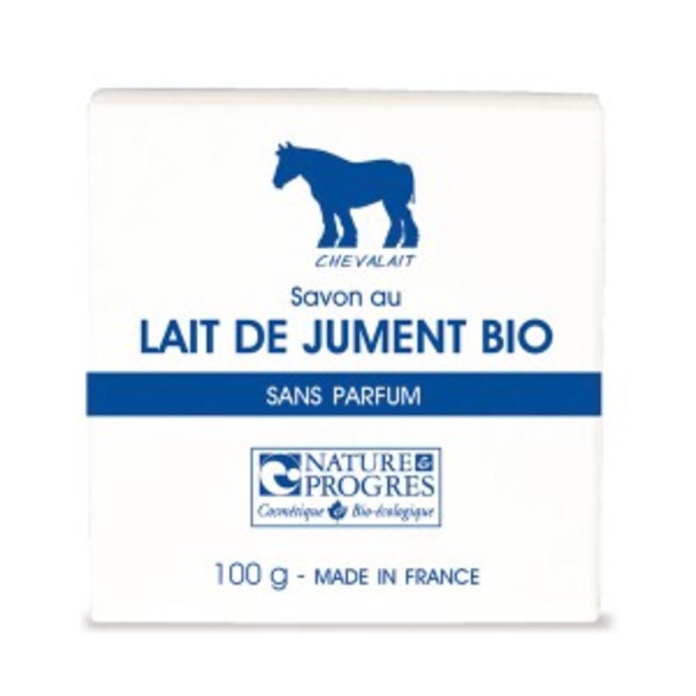 Savon au lait de jument sans parfum bio - 100 g - divers - chevalait cosmetique -141882