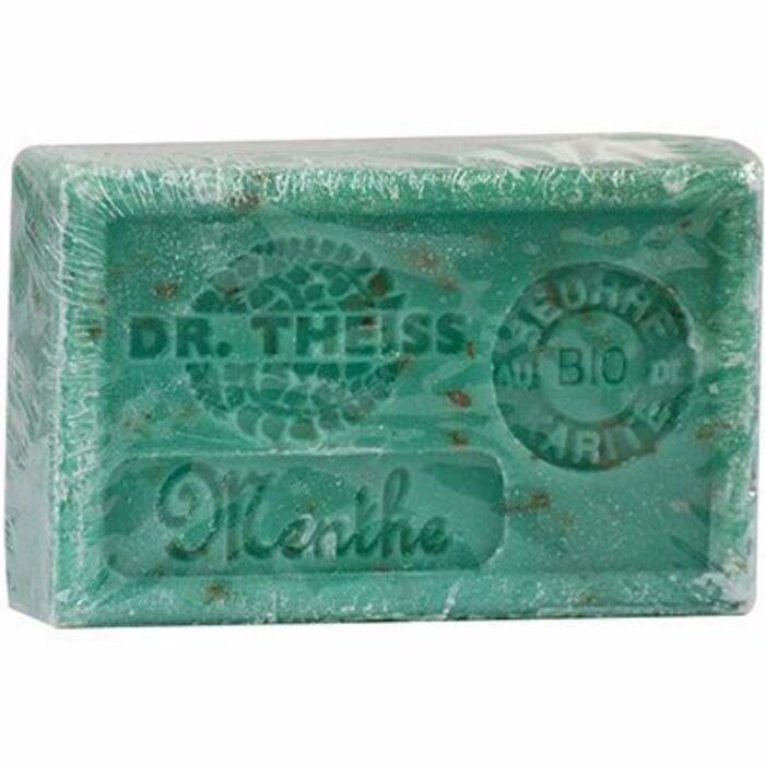 Savon de marseille menthe broyée 125g Dr theiss-215957
