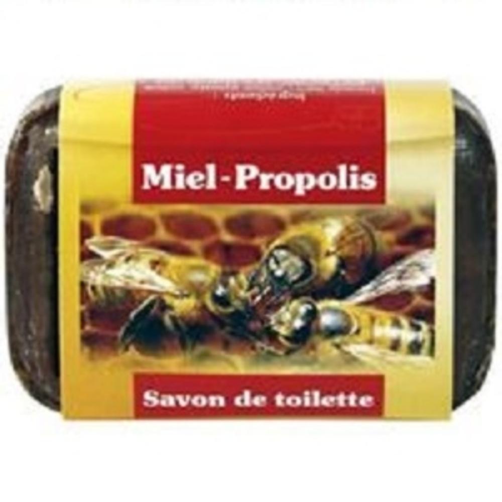 Savon de toilette miel-propolis - 100.0 g - hygiène buccale - aagaard propolis Vertus purifiantes et désodorisantes-8914