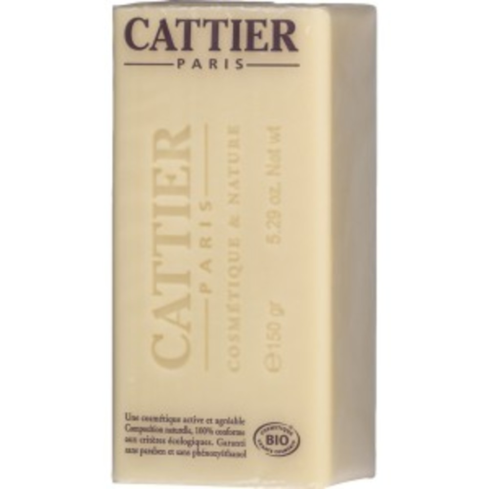 Savon doux végétal surgras karité - 150.0 g - hygiène corps - cattier Peaux sèches et sensibles-1493