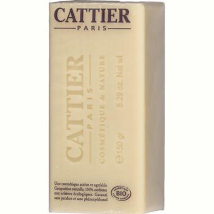 Savon doux végétal surgras karité bio 150g Cattier-1493