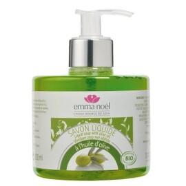 Savon liquide à l'huile d'olive bio pompe - 300.0 ml - savons liquides - emma noël -6683