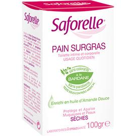 Savon pain surgras - 100 g - 100.0 g - hygiène intime - saforelle -13150