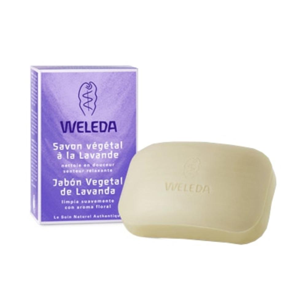 Savon Végétal à la Lavande - 100.0 g - hygiène - Weleda Senteur relaxante-140926