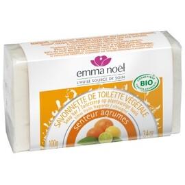 Savonnette agrumes - 100.0 g - savonnettes végétales bio senteurs du sud - emma noël -6666