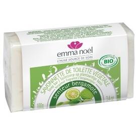 Savonnette bergamote - 100.0 g - savonnettes végétales bio senteurs du sud - emma noël -6668