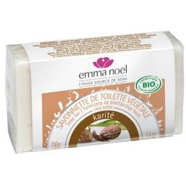 Savonnette karité - 100.0 g - savonnettes végétales bio senteurs du sud - emma noël -6671