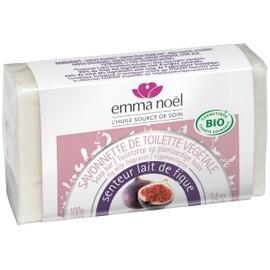 Savonnette lait de figue - 100.0 g - savonnettes végétales bio senteurs du sud - emma noël -6672