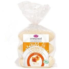 Savonnettes miel bio - 150.0 g - savonnettes végétales bio - emma noël -6664