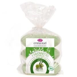 Savonnettes olive bio - 150.0 g - savonnettes végétales bio - emma noël -6665