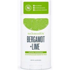 Schmidt's déodorant naturel bergamote citron 75g - schmidt s -226749