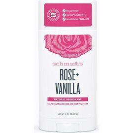 Schmidt's déodorant naturel rose vanille 75g - schmidt s -226752