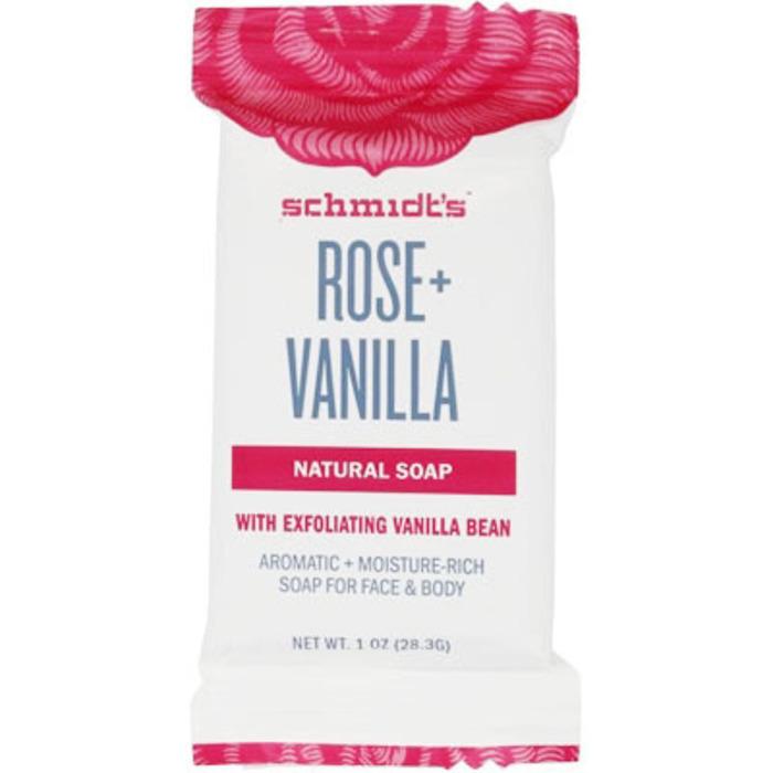 Schmidt's savon rose + vanille 28g Schmidt s-222477