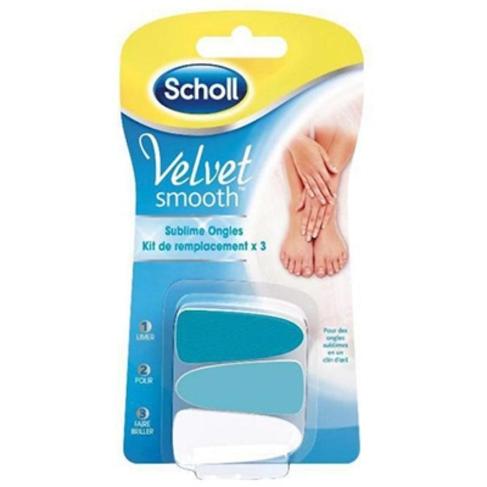Scholl kit de remplacement sublime ongles - scholl -204152