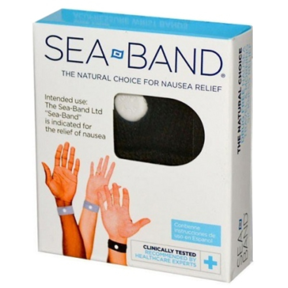 Sea band bracelet anti-nausées adulte noir - divers - seaband -142641