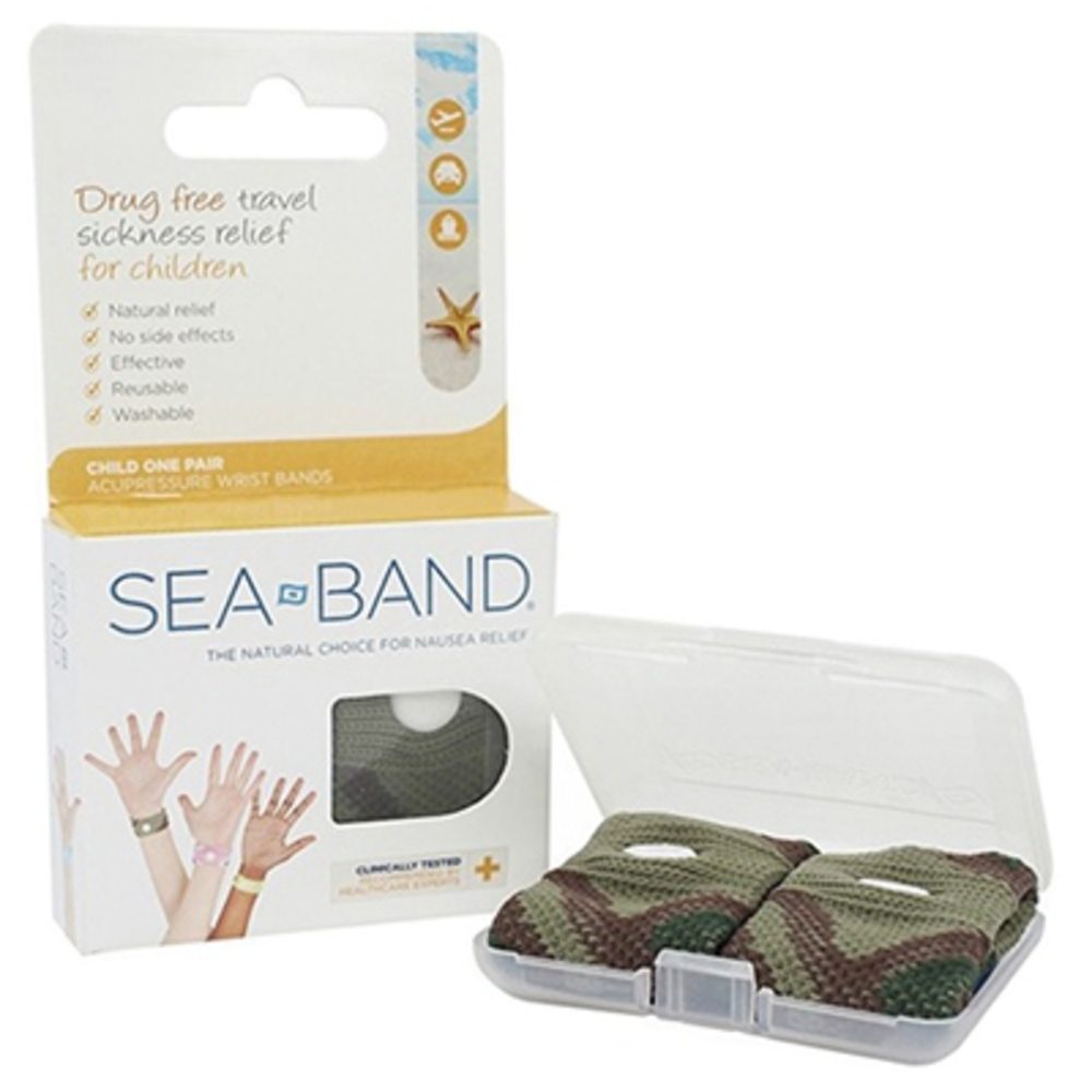 Sea band bracelet anti-nausées enfant vert - divers - seaband -142637