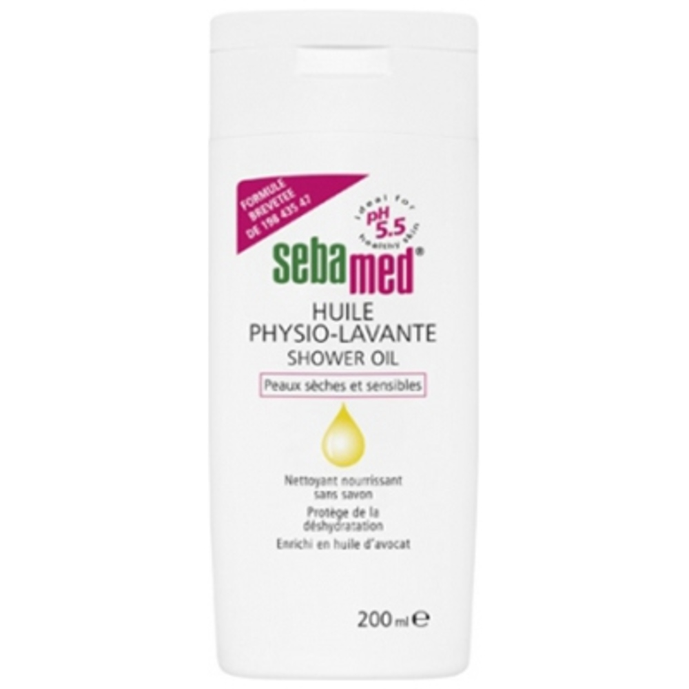 Sebamed huile physio-lavante - 200ml - sebamed -198497