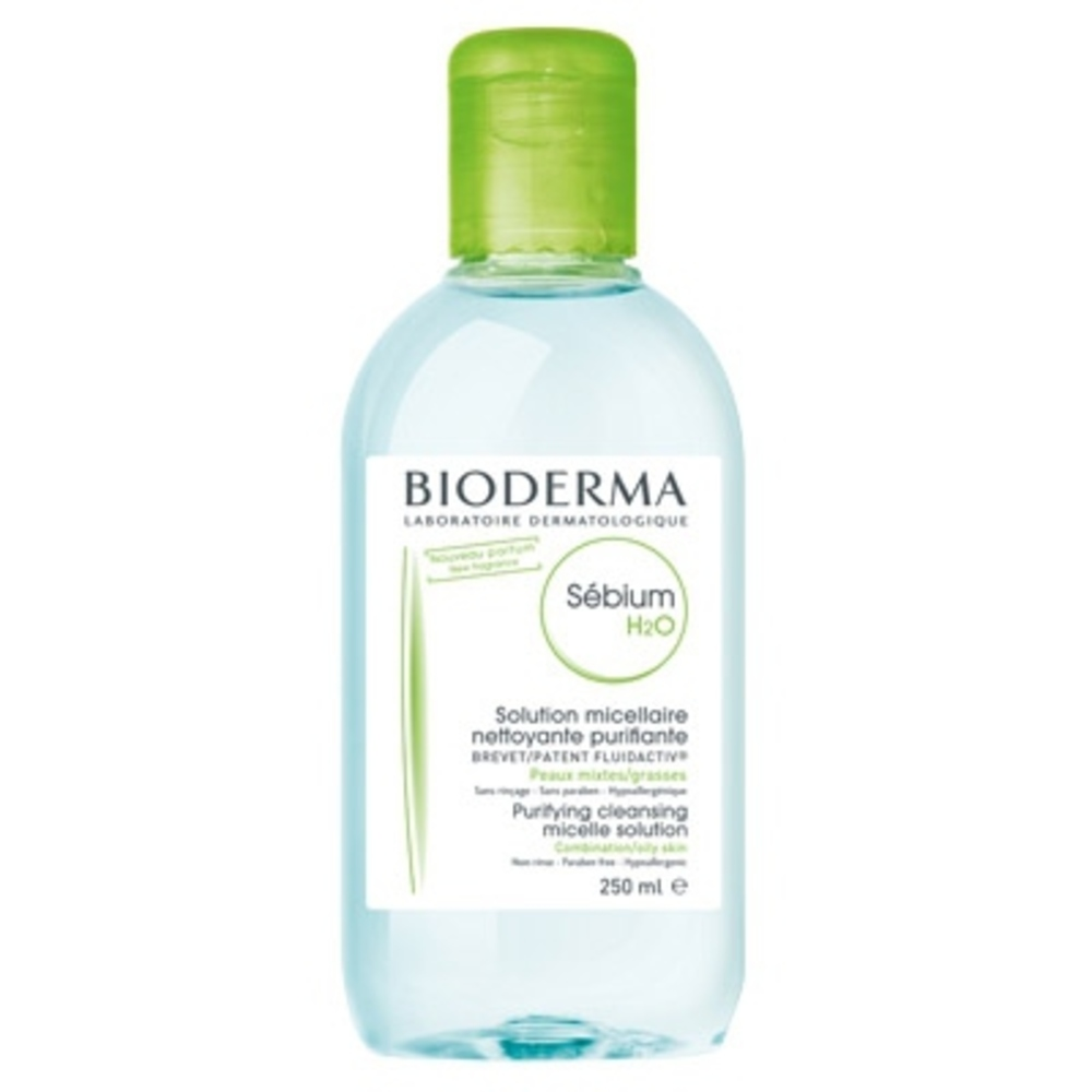 Sébium h2o - 250ml - 250.0 ml - peaux grasses - bioderma Nettoyant quotidien purifiant-4144