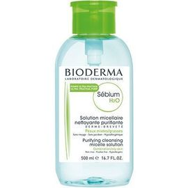 Sébium h2o solution micellaire pompe inversée 500ml - bioderma -220609
