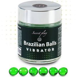 Secret play brazilian balls lubrifiant effet vibrant x6 - secret-play -225828