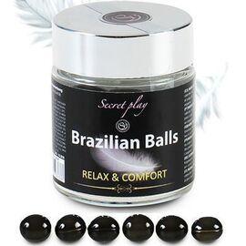 Secret play brazilian balls lubrifiant relaxant x6 - secret-play -225827