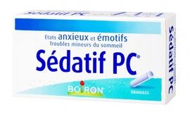 Sedatif pc granulés - 2 tubes de 80 granulés - boiron -192979