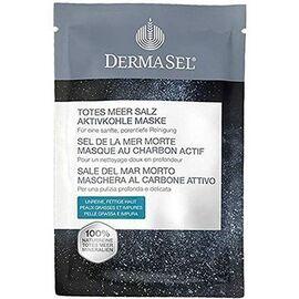 Sel de la mer morte masque au charbon actif 12ml - dermasel -225345