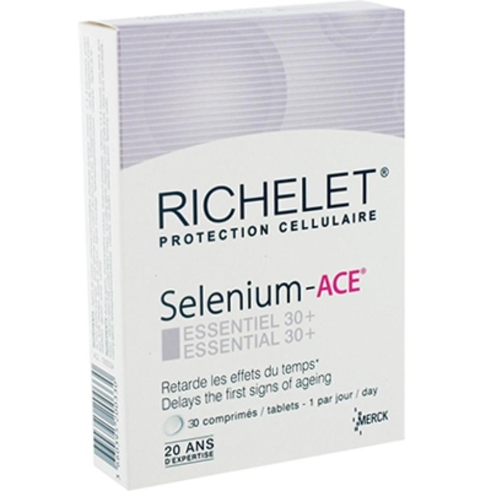 Sélénium ace essentiel 30+ - richelet -197085